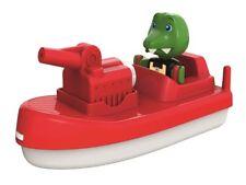 Big 262 - Aquaplay Firebooat / Feuerwehrboot Mit 1 Figur  - Neu