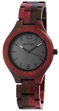 Holzuhr Holz Armbanduhr Damenuhr Raptor RA10191-001