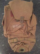 ITALIAN GAS MASK BAG POUCH Khaki WEBBING NBC Respirator WW2 Army - UNISSUED Rare