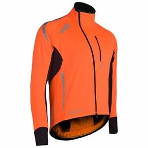 Zimco Pro Bike Jacket Cycling High Viz Jacket Winter Soft Shell Wind Jacket