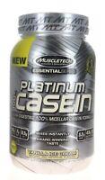 MuscleTech Platinum 100% Casein Protein 1.3Lbs Vanilla Ice Cream