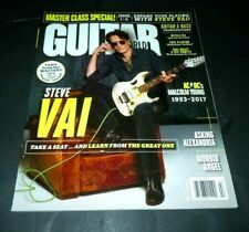 Steve Vai~Guitar World~Magazine~Feb 2018~Vol 39 No. 2~Malcolm Young~New