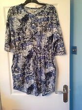 Ladies Dress/long Top from Peacocks size 12 in good condition