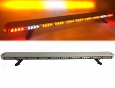 1200MM Amber Recovery LED Light Bar Tow Truck Plow EMS Cargo Lights Turn Signal