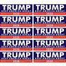 10pcs Donald Trump for President Keep America Great Again 2020 Bumper Sticker