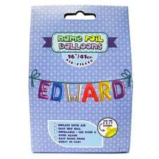 Royal County Products Name Foil Balloons - Edward - New