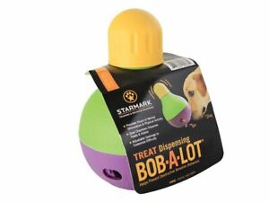 Starmark Bob-A-Lot Interactive Tough Treat Dispensing Toy Large Small