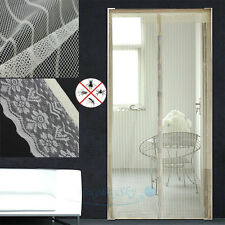 Hands Free New Screen Net Door with magnets Anti Mosquito Bug Curtain USA