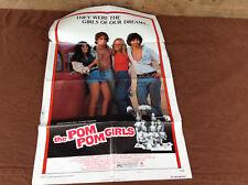 1976 The Pom Pom Girls Original Movie House Full Sheet Poster