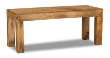 Solid Mango Light Medium 110cm Bench (h45l)