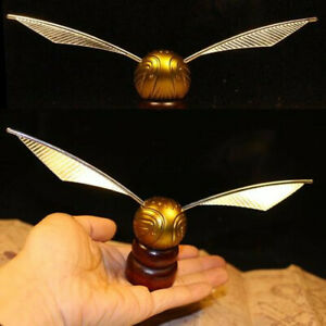 Halloween Harry Potter Golden Snitch Miniature Collection Decal Decoration Gift