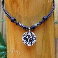Sternzeichen Halskette STEINBOCK Capricorn verstellbar Surferkette Horoskop Mond