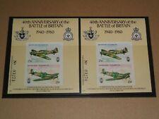 1980 RAF Battle Of Britain Cinderella Stamp MNH Spitfire Hurricane Biggin Hill