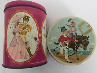 2 X Rare Vintage Mackintosh's Quality Street Tin - Quality Street Chocolate Tin