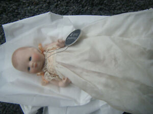 Bisque TREASURED DOLL SMALL BABY DOLL HAND MADE BY JANE BORTHWICK