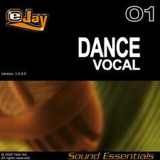 🎵 eJay Dance Vocal Sound Essentials, Wav, female, male, acapella, sample voices