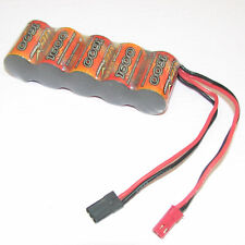 6V 1600mAh NiMH RX battery Straight Type pack RC Engine model Receiver Power