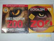 LOT 2 ZOO  & ZOO 2 by JAMES PATTERSON (CD, Unabridged)
