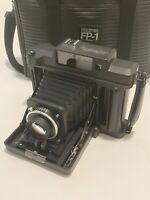 Fujifilm Fuji Fotorama FP-1 Pro Instant Camera JAPAN EXC++++ W/ Rare Case