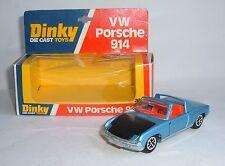 DINKY TOYS Nº 208, VW Porsche 914, - SUPERBA