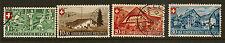 SWITZERLAND:1945 National Fete set   SG 461-4  fine used