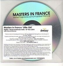 (CQ292) Masters In France, Little Girl - 2010 DJ CD