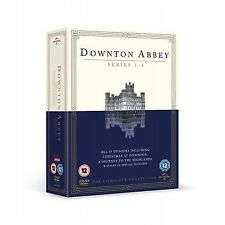 Downton Abbey Series 1 - 4 DVD PAL Regions 2, 4, 5 New Sealed