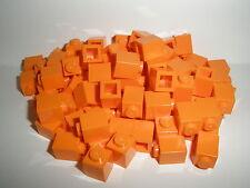 +  LEGO CITY   80  orange  Bausteine  1 x 1  Noppen   NEU  +