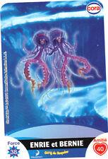 Carte CORA Dreamworks n° 84/112 - ENRIE ET BERNIE