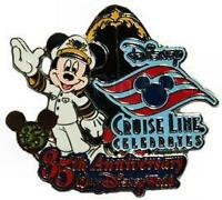Disney DCL Celebrates 35th Anniversary Mickey Mouse Cruise Pin