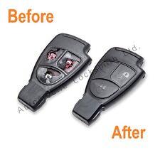 Mercedes 2/3 botón Remoto Llavero servicio de reparación Fix