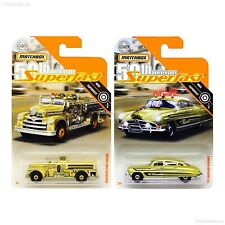 Matchbox 50th Anniversary Superfast Gold 51 Hudson Hornet Seagrave Fire Engine