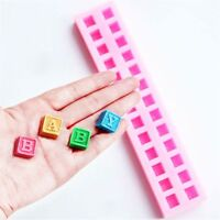 Candy Silicone 26 Letters Shape Mold Chocolate Fondant Cake Mould Decoration