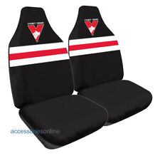 SYDNEY SWANS Official AFL Car Seat Covers Airbag Compatible *NEW*