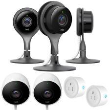 Nest Indoor Security Camera (Pack of 3) w/ Outdoor Security Cam Bundle