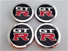 GT R GT-R Wheel Center Hub Caps 60mm/55mm UNIVERSAL for Alloy Wheels Set of 4