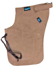 Farrier Chaps Apron Thin Nubuck Genuine Leather Horseshoeing Apron