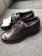 Nwt Deer Stags Black Leather Dress Shoes Men's Boy's School Uniform 7 1/2 M