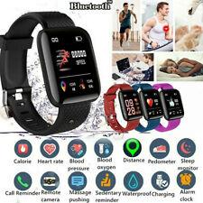 116plus Bluetooth Smart Watch Heart Rate Blood Pressure Sport Fitness Tracker