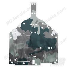 Losi Baja Rey Chassis Plate Protector Thick Graphics - Smoke Camo LOS231010