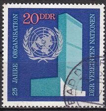 DDR Mi.-Nr. 1621 gestempelt 20 Pf. 25 Jahre Vereinigte Nationen