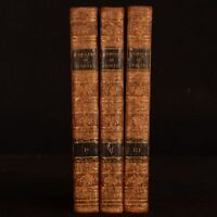 1805 3vol Memoirs of Samuel Foote Cooke Illustrated First Edition Scarce