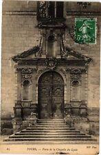 CPA  Tours -Porte de la Chapelle du Lycée   (227302)