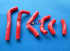 For HONDA CRF450 CFR450R 02 03 04 2002 2003 2004 Silicone Radiator Hose RED
