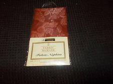 Nip 2 Fabric Damask Napkins By Better Homes 100% Poly. Cinnamon 2005