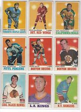 1970-71 O-Pee-Chee OPC Finish Your Set - VG to EX and better LOW SHIPPING