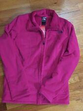 New North Face Woman Morningside Full ZIP Fleece Jacket Passion Pink Medium $99