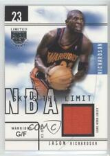 2003-04 Skybox Limited Edition Sky's the Limit Game-Used /99 Jason Richardson