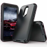For LG Stylo 5 4 Aristo 4 Plus Rugged Armor Case Hybrid Shockproof Bumper Cover