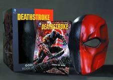 Tony Daniel SIGNED Deathstroke The Terminator Book Mask Set GODS OF WAR CW Arrow
